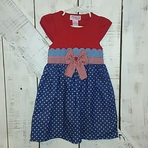 Other - Red and blue stars dress new size 3